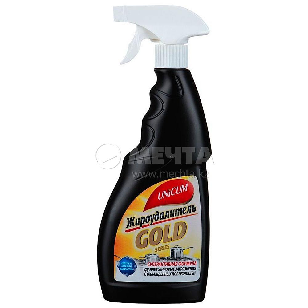 Средство для чистки плит unicum gold 500 ml спрей л скребок для чистки плиты керамической