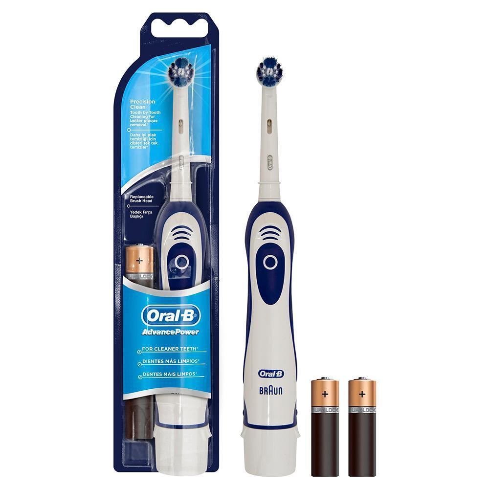 Зубные щетки электрические с питанием