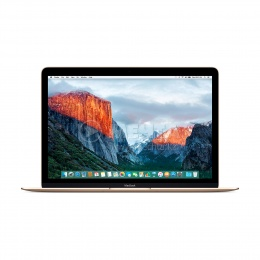 Ноутбук APPLE MacBook A1534 (MLHE2) Intel Core M3-1.1GHz/12.0/256/8/Intel HD Graphics/CAM/CR/WiFi/BT/MAC OS(Gold)