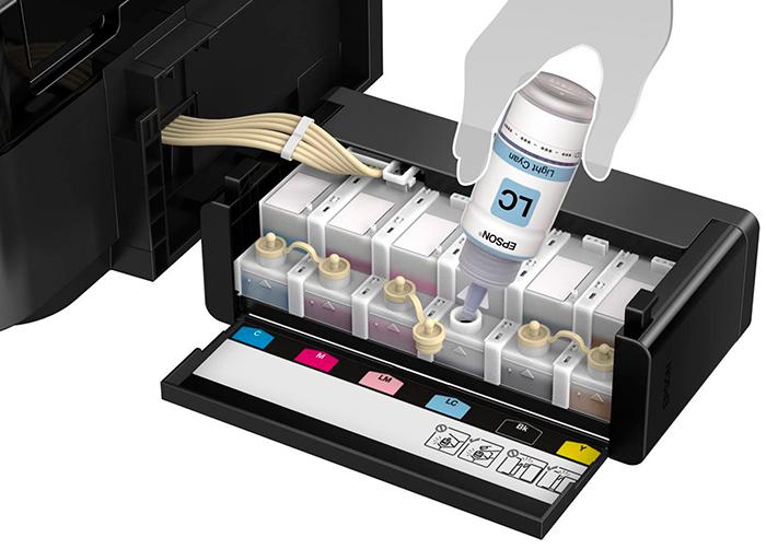 Ремонт струйных принтеров epson